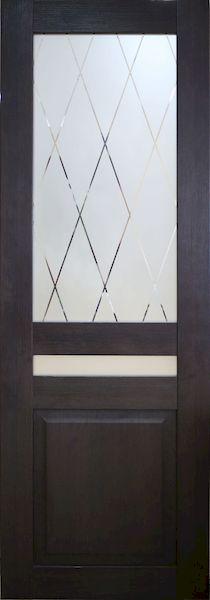 Межкомнатная дверь S 15 (ПВХ пленка)